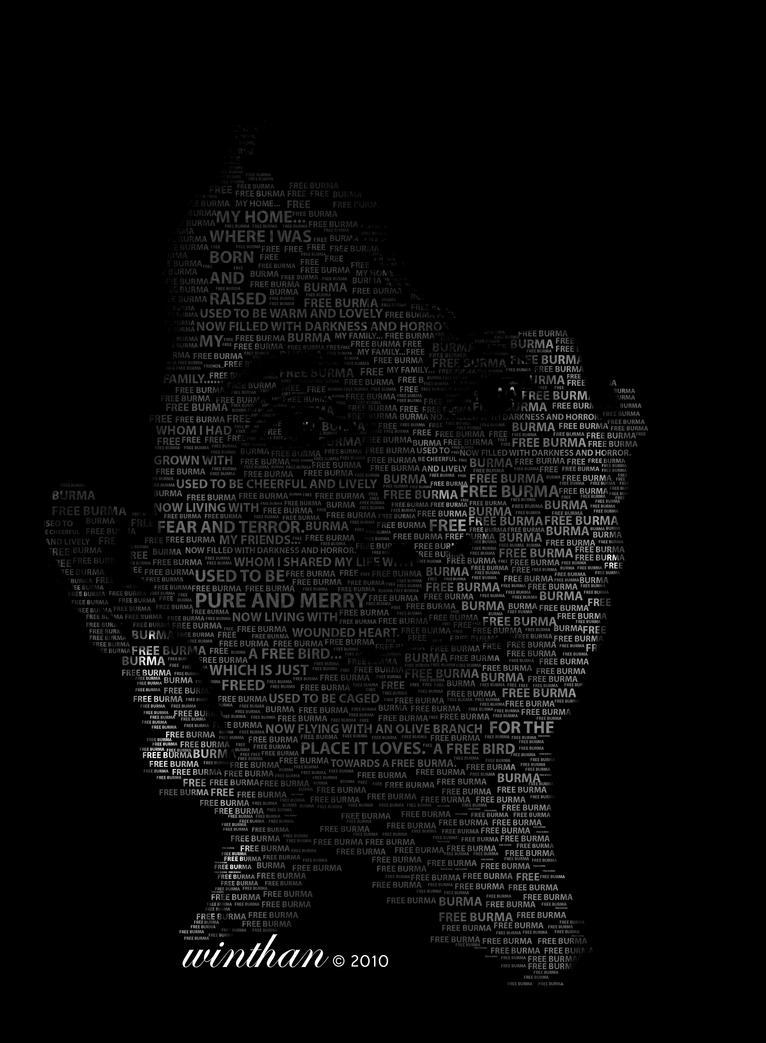 Daw Aung San Suu Kyi by Winthan