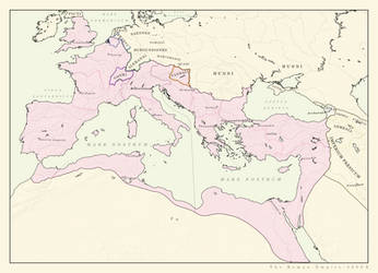 Roman Empire 400CE (ARALDYANA) by Pischinovski