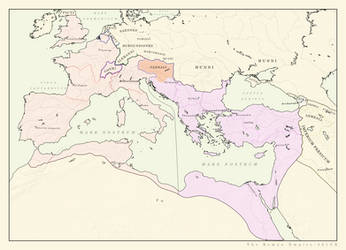 Roman Empire 401CE (ARALDYANA) by Pischinovski