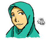 (practicing) muslimah intuos