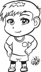 (practice) jersyboy Intuos, illustrator by zulan477