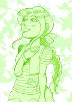 Kelly OC (Sketch)