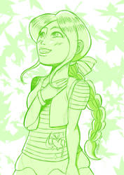Kelly OC (Sketch) by zulan477