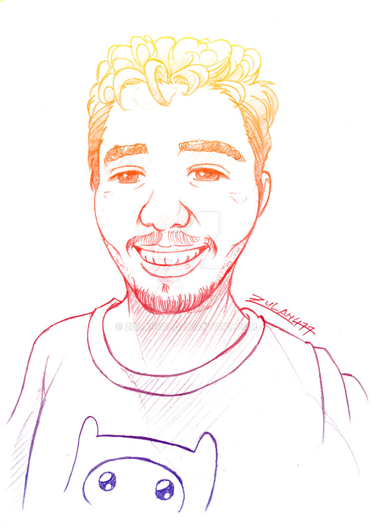 Roberto's Portrait (Requested) by zulan477
