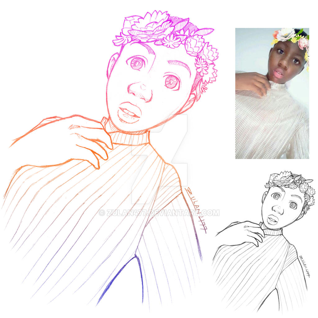 Kweshie Portrait Collage
