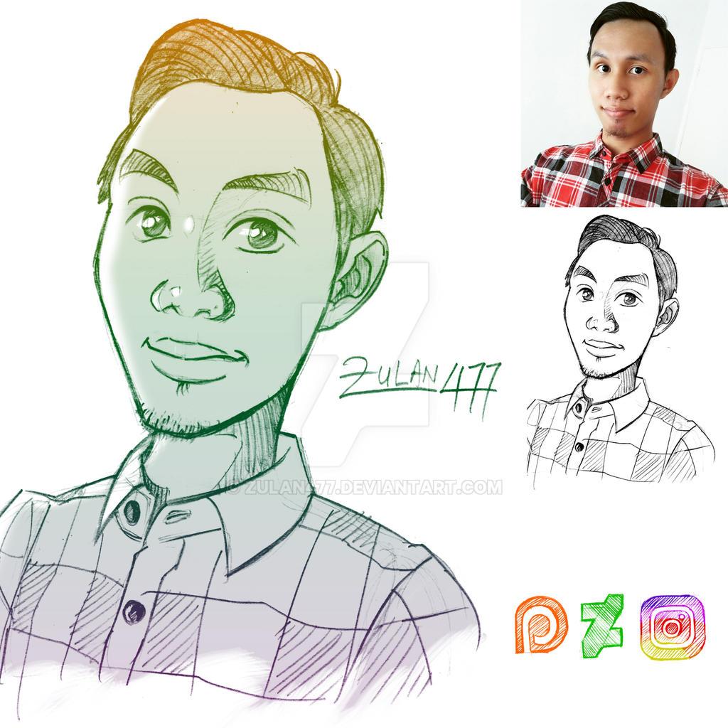 Zulan477 Profile Sketch by zulan477