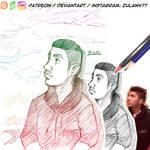 Karimo Sketch Collage