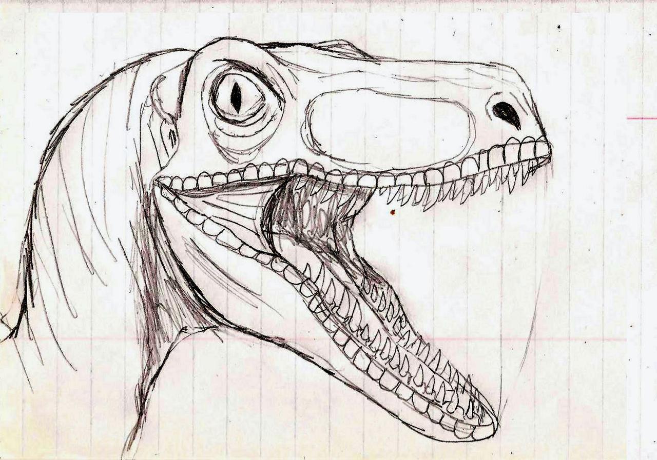velociraptor painting related keywords - photo #5