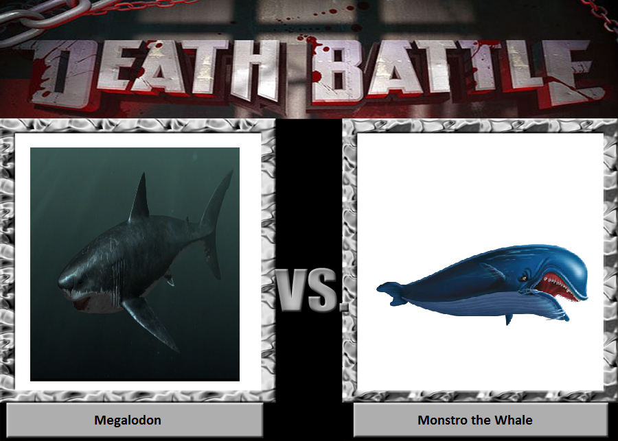 Death Battle 13: Monstro the whale meets Megalodon by TrefRex on DeviantArt