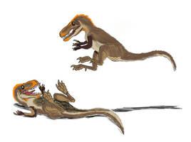Dryptosaurus aquilunguis by TrefRex