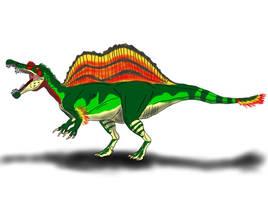 Spinosaurus aegypticus (Original) by TrefRex