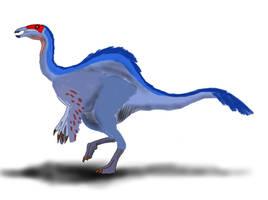Deinocheirus mirificus by TrefRex