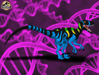 Raptor Alpha (Jurassic Park: Chaos Effect) by TrefRex