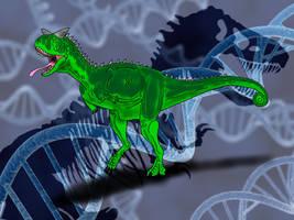 Jurassic Park Novel Carnotaurus by TrefRex
