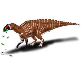 Gryposaurus monumentensis by TrefRex