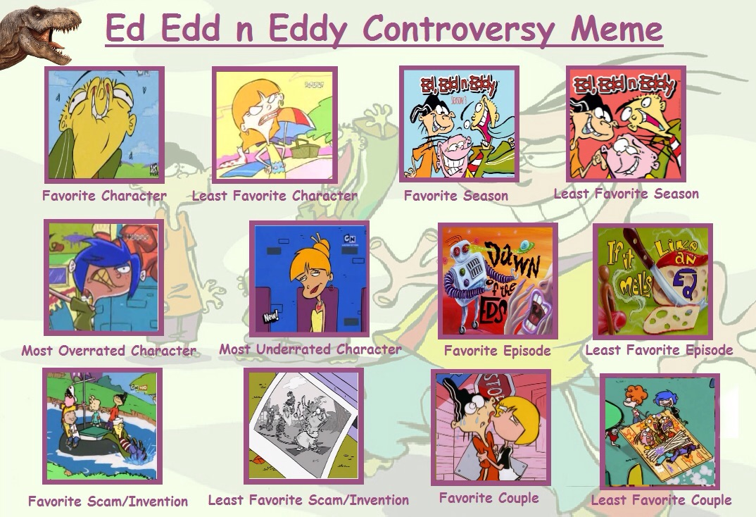 My Ed Edd N Eddy Controversy Meme By Trefrex