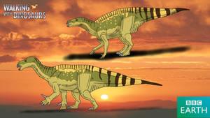 Walking with Dinosaurs: Iguanodon by TrefRex