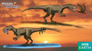 Walking with Dinosaurs: Eustreptospondylus