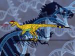 Jurassic Park Novel Dilophosaurus