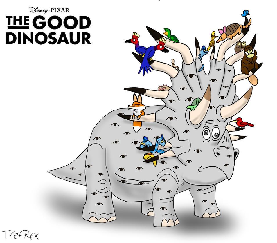 the good dinosaur forrest woodbush by trefrex on deviantart