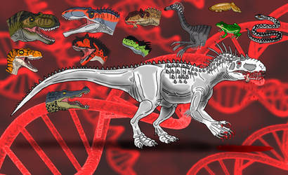 Indominus rex: The Creation by TrefRex