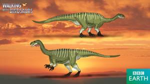Walking with Dinosaurs: Plateosaurus