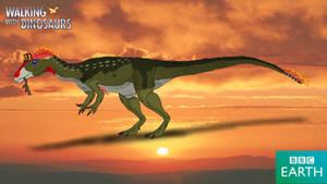 Walking with Dinosaurs: Cryolophosaurus