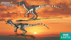 Walking with Dinosaurs: Ornitholestes