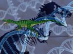 Jurassic Park Novel Ornitholestes