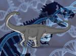 Jurassic Park Novel Apatosaurus