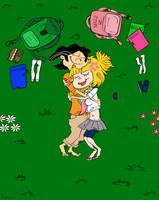 Nazz X Edd: Cuddling by TrefRex
