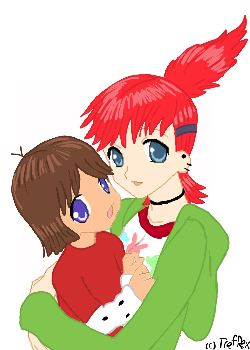 Me and my little Mac by TrefRex