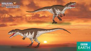 Walking with Dinosaurs: Giganotosaurus by TrefRex