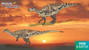 Walking with Dinosaurs: Macrogryphosaurus by TrefRex