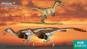 Walking with Dinosaurs: Velociraptor by TrefRex