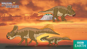 Walking with Dinosaurs: Protoceratops