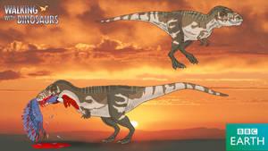 Walking with Dinosaurs: Tarbosaurus by TrefRex