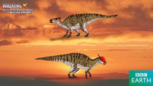 Walking with Dinosaurs: Saurolophus