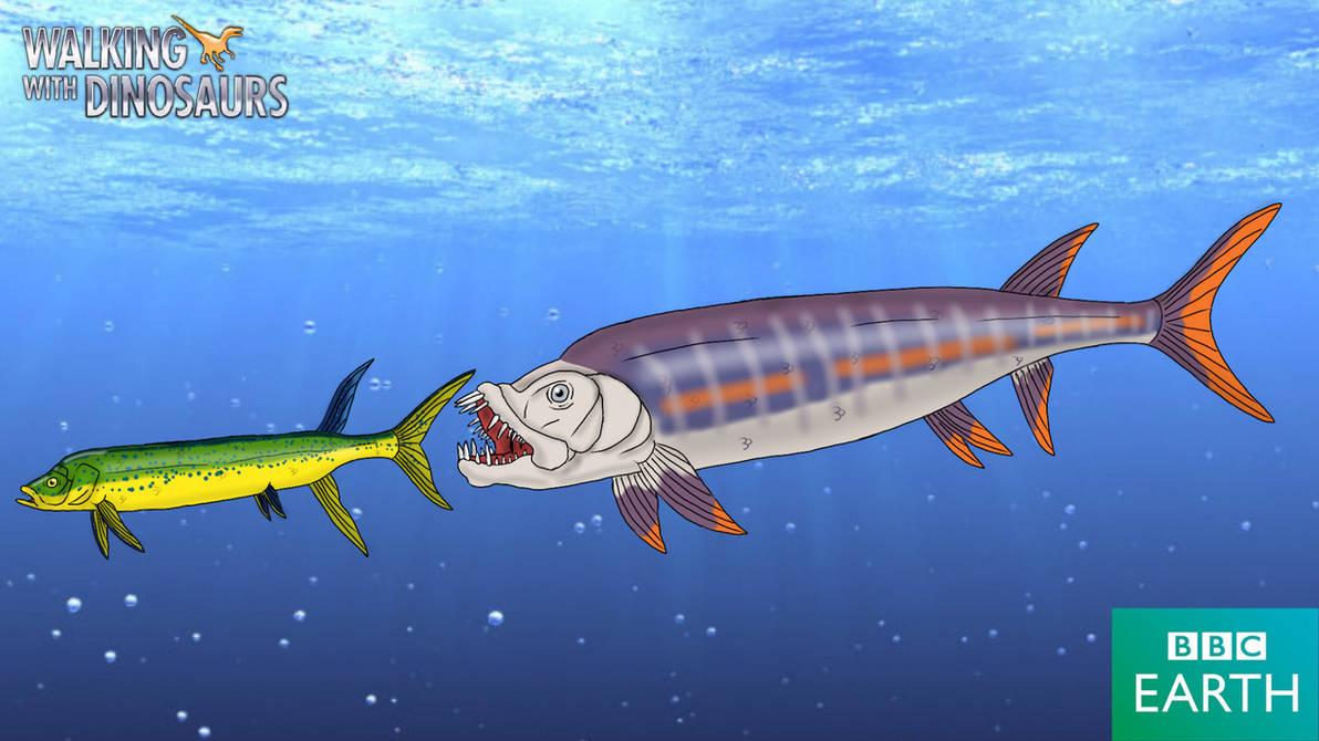 xiphactinus fish - 1192×670