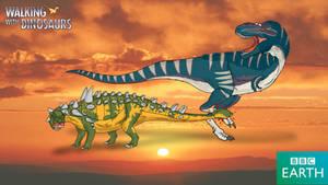 Walking with Dinosaurs: Euoplocephalus by TrefRex