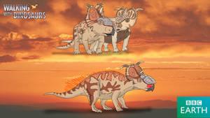 Walking with Dinosaurs: Pachyrhinosaurus lakustai