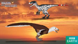 Walking with Dinosaurs: Dromaeosaurus