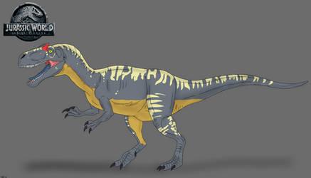 Jurassic World: Fallen Kingdom - Allosaurus by TrefRex