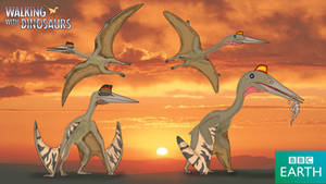Walking with Dinosaurs: Quetzalcoatlus by TrefRex