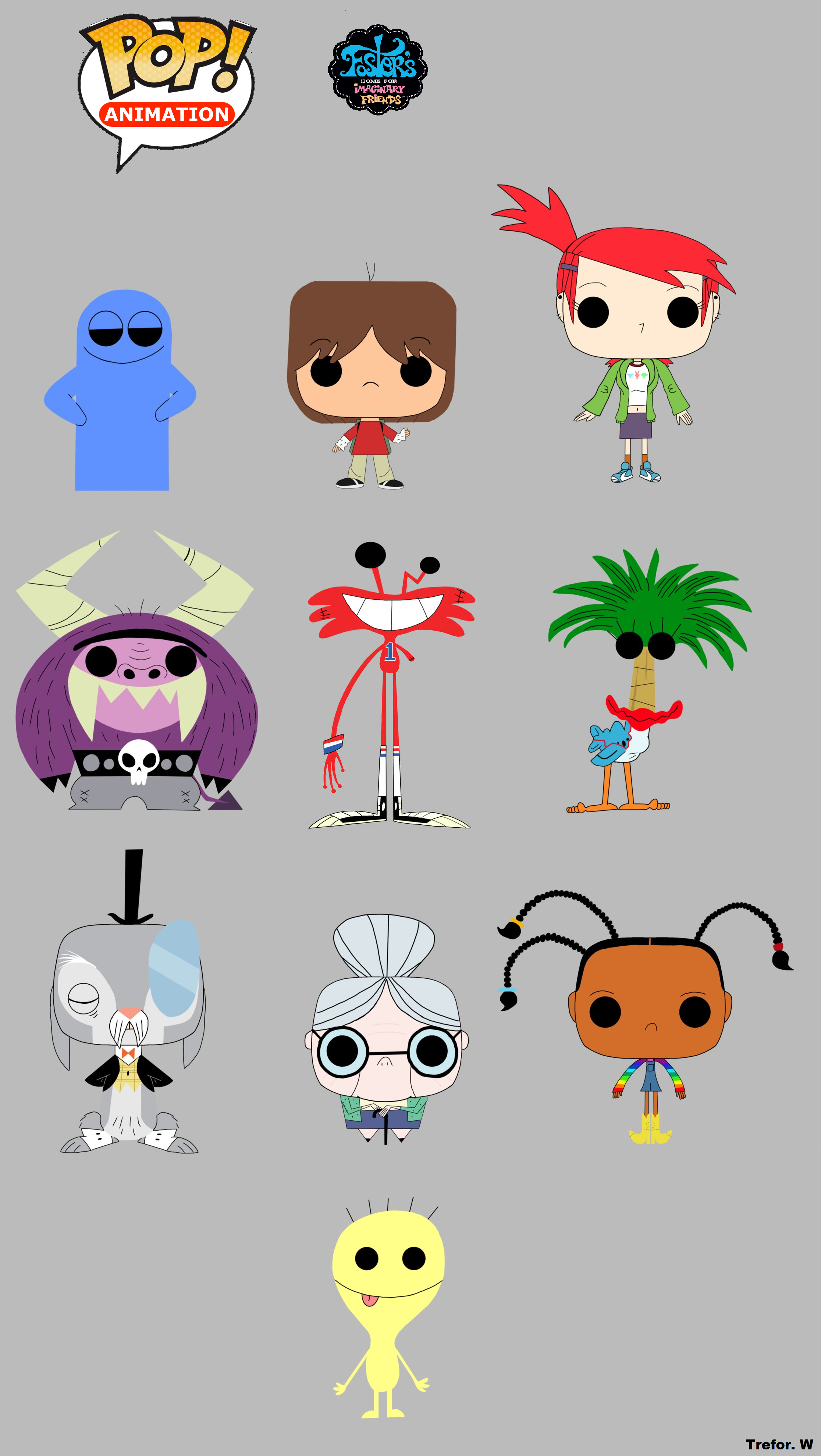 Fosters Home For Imaginary foster's home for imaginary friends funko pop!trefrex on