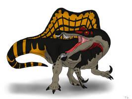 Planet Dinosaur Spinosaurus by TrefRex