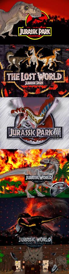Jurassic Park series Titles