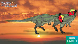 Walking with Dinosaurs: Pachycephalosaurus by TrefRex