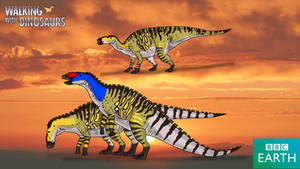 Walking with Dinosaurs: Edmontosaurus annectens by TrefRex