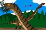 Jurassic June 14: Mamenchisaurus